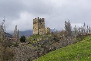 Genoese fortress in Sudak, Crimea.