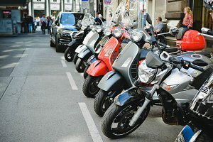 Motobikes on the European Street