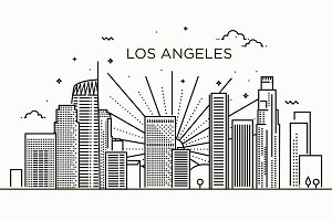 Minimal Los Angeles Linear Skyline