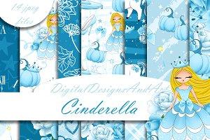 Cinderella digital paper
