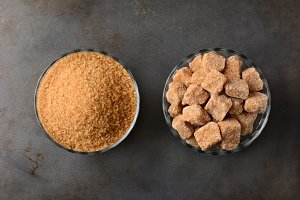Bowls of Brown Sugar