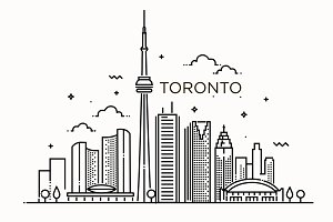 Minimal Toronto City Linear Skyline