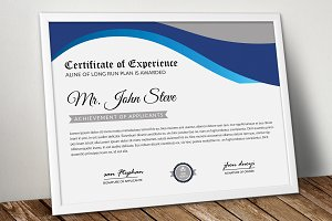 Word Certificate Templates | Company Word Certificate Template Stationery Templates Creative