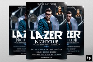 Lazer Club Flyer