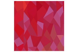 Imperial Purple Cadmium Red Abstract