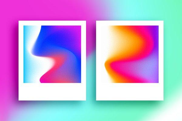 Holographic Gradient Textures