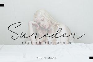 Sureder Stylish Scipt Font