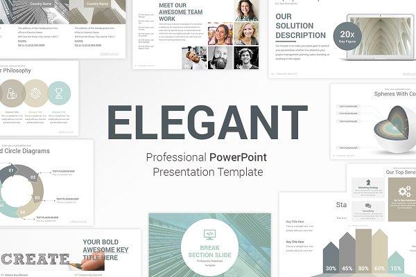 Elegant PowerPoint Template Pack