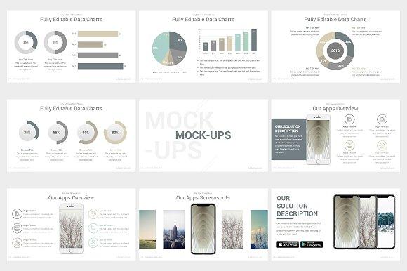 Elegant Powerpoint Template Pack Presentation Templates Creative