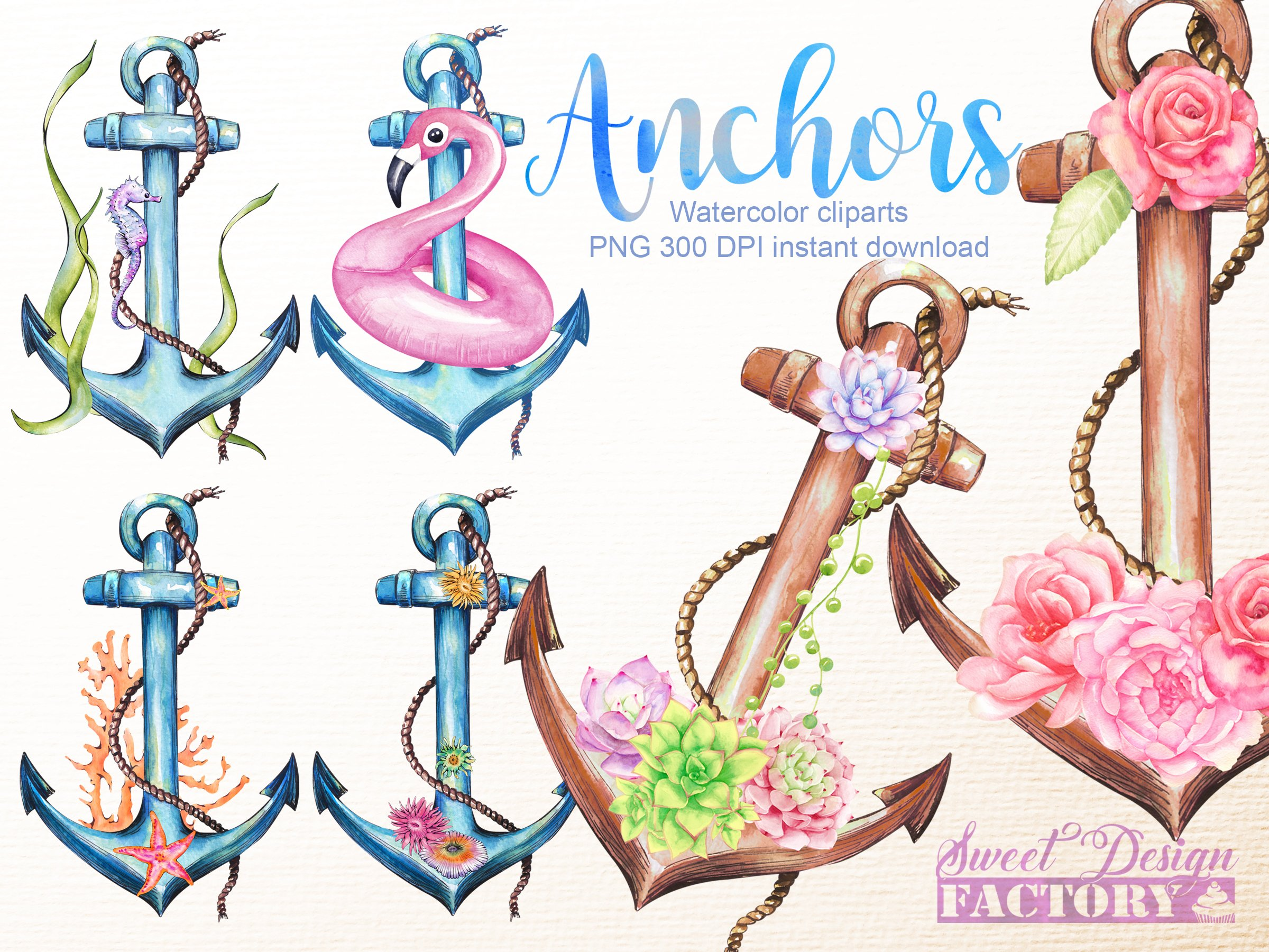 Hot Pink Anchor Clip Art At Clker - Pink Anchor Clip Art - Free Transparent PNG  Clipart Images Download