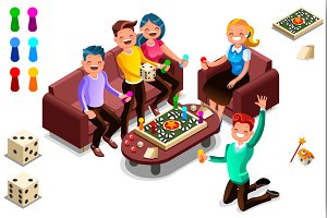 Board games adults leisure