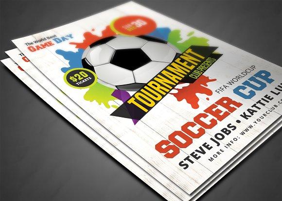 Soccer World Championship 2018 Flyer