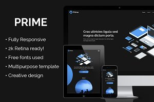 Prime - Creative Adobe Muse Template