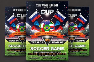 Soccer World Championship Flyer
