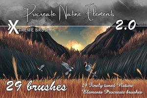 Procreate Nature Elements 2.0