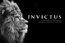 Invictus Serif Typeface by Nicu Zaporojan in Display Fonts