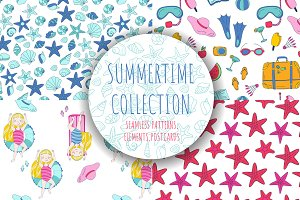 Summertime Vector Collection