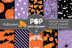 Halloween - 10 digital papers