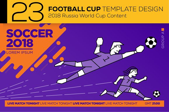 23 Modern Football Layout Designs