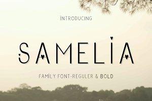 Samelia Family Font