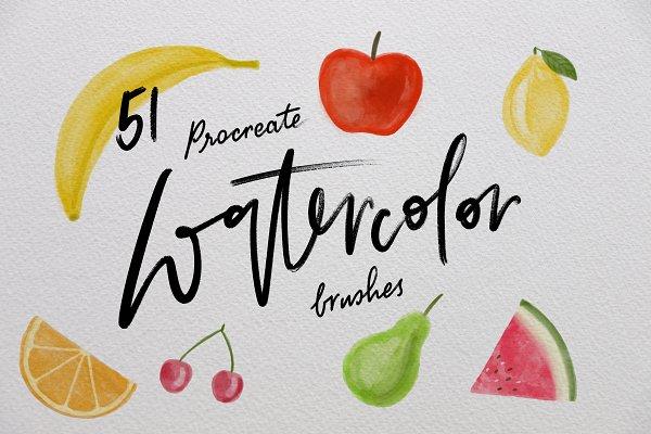 Procreate watercolor
