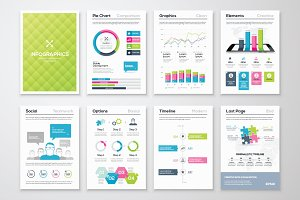 Infographic Brochure Elements 12