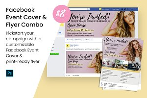 Facebook Event Cover & Print Flyer