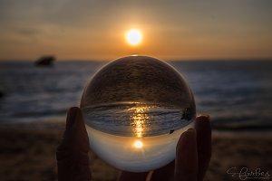 Crystal Ball Sunset
