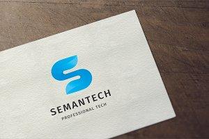 Semantech - Letter S Logo