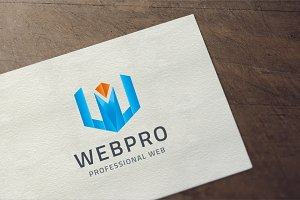 Letter W - Professional Web Logo