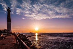 Sunset at Barnegat Lighthouse