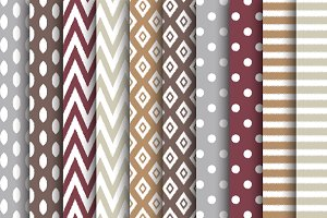 Fall Ikat Papers