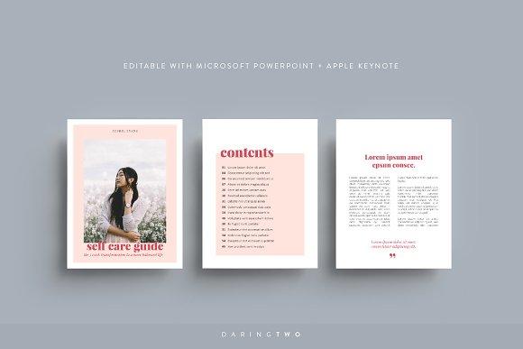 V5 Ebook Template Powerpoint Keynote Magazine Templates Creative