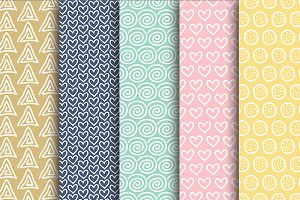 Pretty Doodle Papers