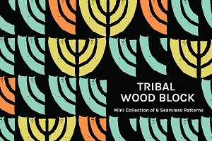 Tribal Woodblock | Mini Patterns