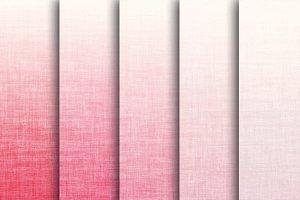 Pink Linen Textures