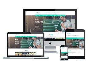 ET Tennis – WordPress Tennis Theme