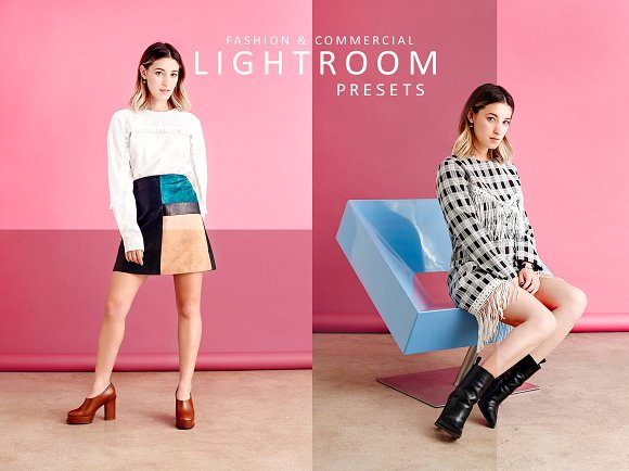 FASHION COMMERCIAL LIGHTROOM PRESETS