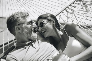 Couple spending time together