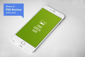 iPhone 6+ Mockup