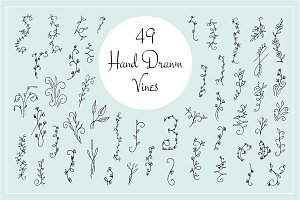 49 Hand Drawn Vines