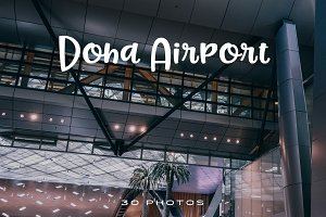 DOHA Airport, Qatar (Photo Pack)