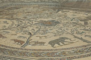 Roman Mosaic of African animals