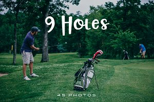 9 Holes (Photo Pack)