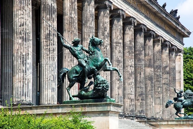 Altes Museum. Berlin, Germany. - Architecture