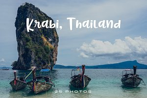 Krabi, Thailand (Photo Pack)