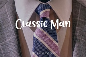 Classic Man (Photo Pack)