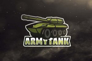 Army Tank Sport and Esport Logo