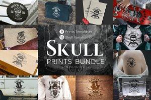 Skull print bundle
