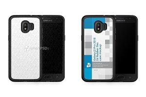 Samsung Galaxy J2 Pro 2d RubberFlex